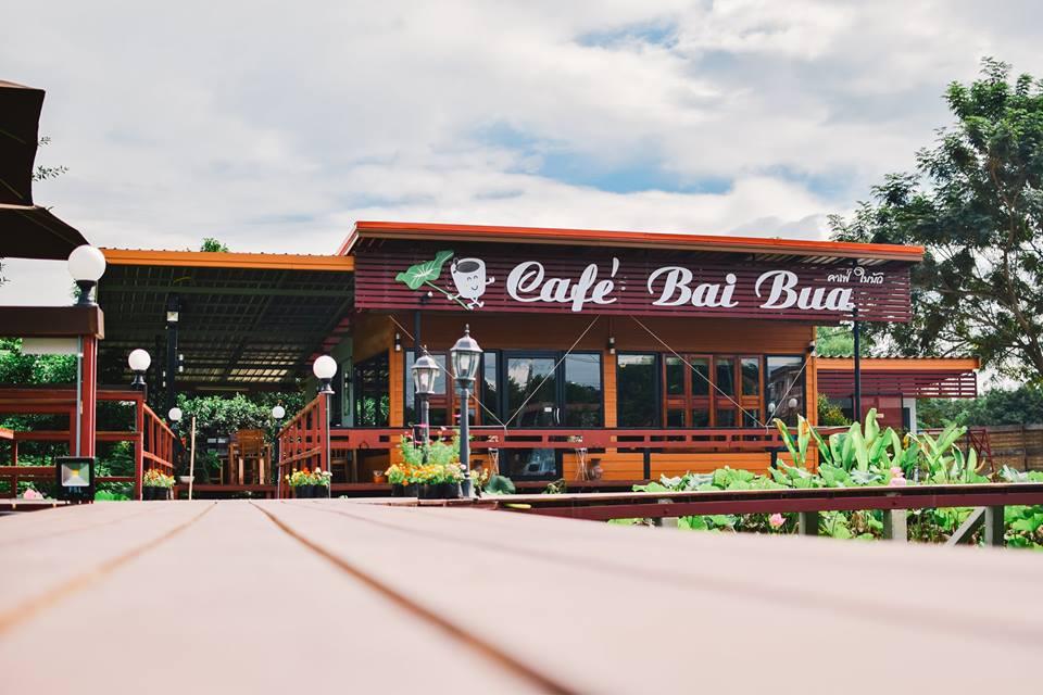 Café Bai Bua ร้านกาแฟทันสมัยและความแปลกในเวลาเดียวกัน