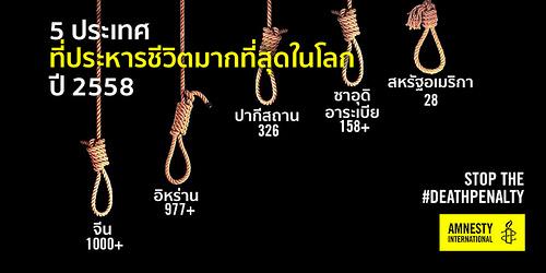 โทษประหารในประเทศไทย ยังมีอยู่หรือไม่